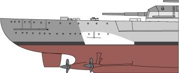 Costruisci la Bismarck Collezione  Hachette in Edicola Falsea11