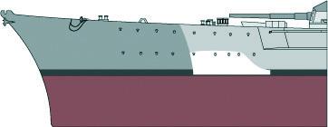 Costruisci la Bismarck Collezione  Hachette in Edicola Falseb10