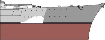 Costruisci la Bismarck Collezione  Hachette in Edicola Falseb11