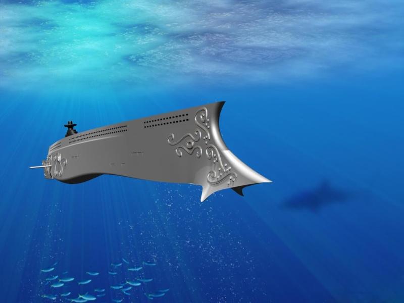 """Un Sottomarino """"Virtuale""""... l' Ulysses Nautil11"""