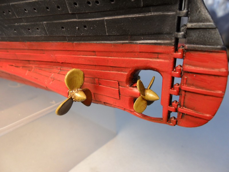 Titanic mod. Academy scala 1:400 da MacPit(Pietro Bollani) - Pagina 5 Sam_1734