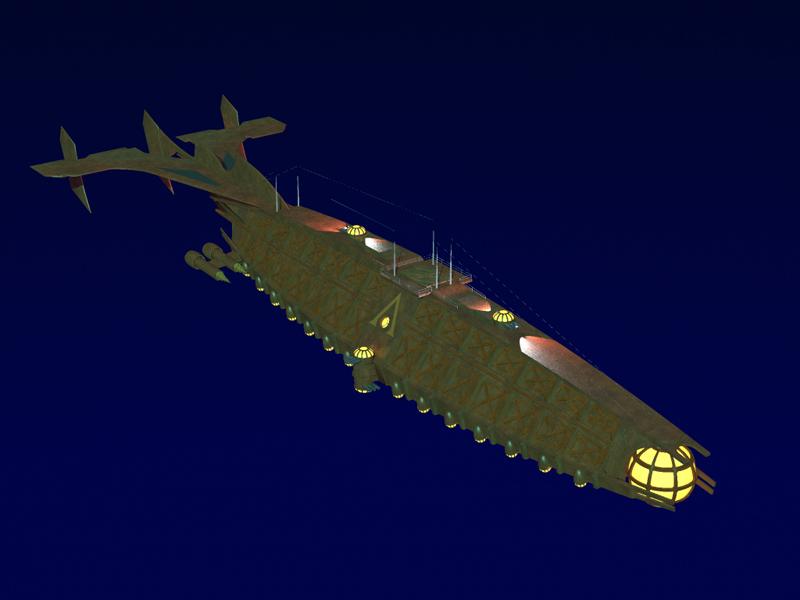 "Un Sottomarino ""Virtuale""... l' Ulysses Ulysse12"