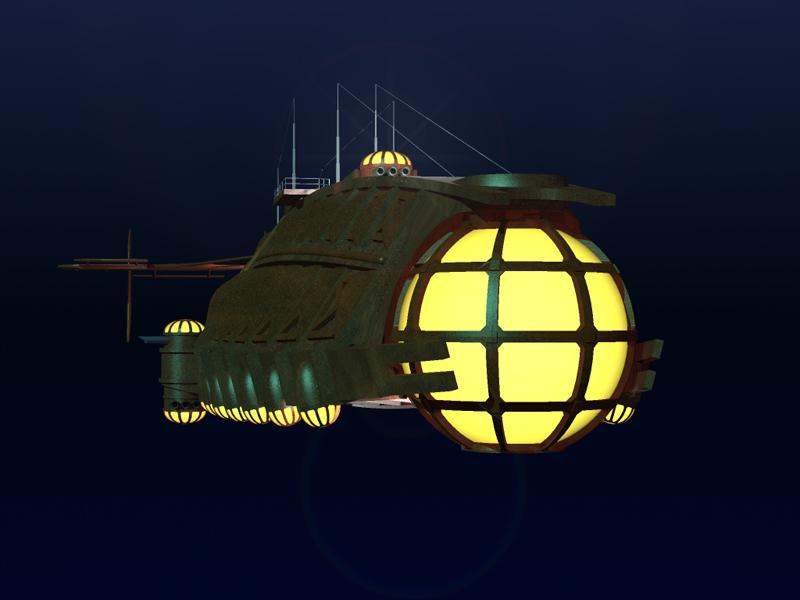 "Un Sottomarino ""Virtuale""... l' Ulysses Ulysse14"