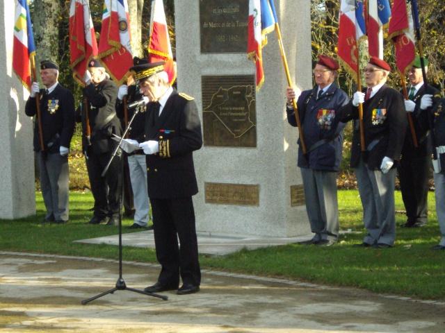 Hommage aux morts pour la France de la guerre d'Algerie 5 decembre a Vannes Dsc01111