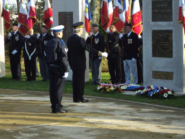 Hommage aux morts pour la France de la guerre d'Algerie 5 decembre a Vannes Dsc01112