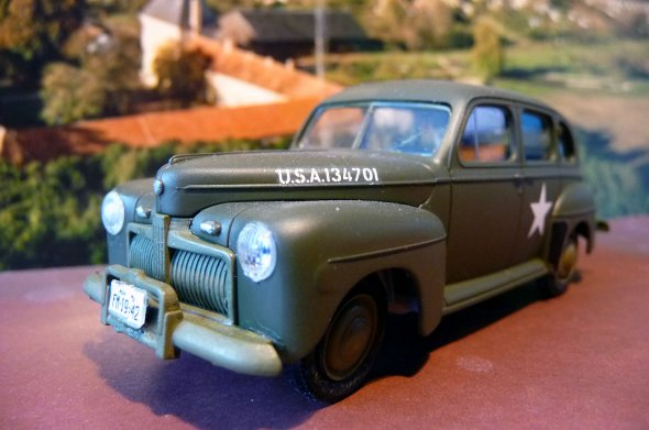 US Army Staff car - FORD modèle 1942  - Tamiya 1/42éme 29304110