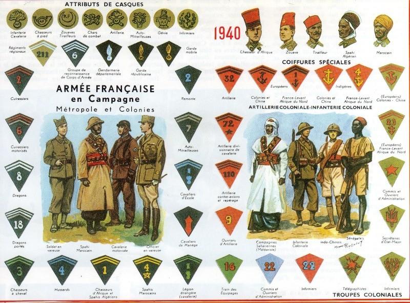 Troupes françaises d'Afrique en 1940- uniformes & insignes 29527913