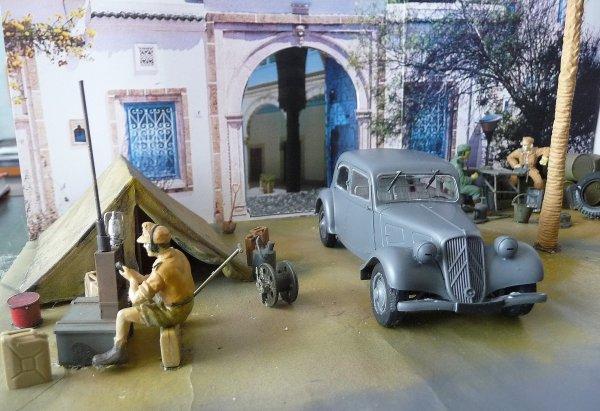 Traction dans le sud Tunisien - Tamiya 1/35éme 29648611