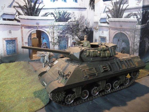 Tank destroyer M10 du 8 éme régiment de chasseurs d'Afrique -Tamiya 1/35éme 30366713