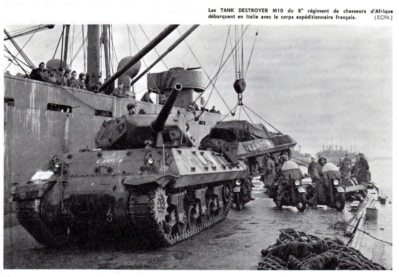 Tank destroyer M10 du 8 éme régiment de chasseurs d'Afrique -Tamiya 1/35éme Caoua10