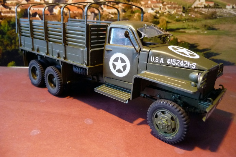 STUDEBAKER US 6 WWII army truck P1020011