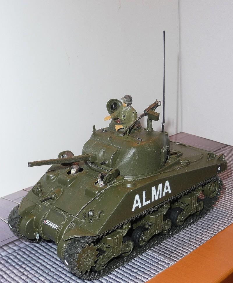 Mes Sherman M 4 ALMA & EKMÜL- 1951/53 - 8éme Cuir 1er escadron P1040022