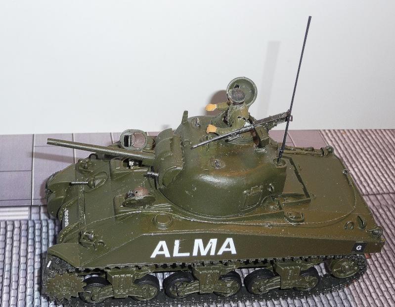 Mes Sherman M 4 ALMA & EKMÜL- 1951/53 - 8éme Cuir 1er escadron P1040023