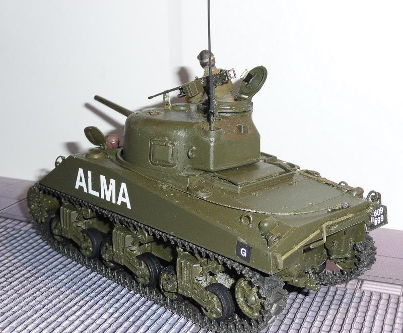 Mes Sherman M 4 ALMA & EKMÜL- 1951/53 - 8éme Cuir 1er escadron P1040024