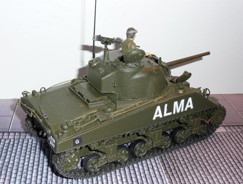 Mes Sherman M 4 ALMA & EKMÜL- 1951/53 - 8éme Cuir 1er escadron P1040025