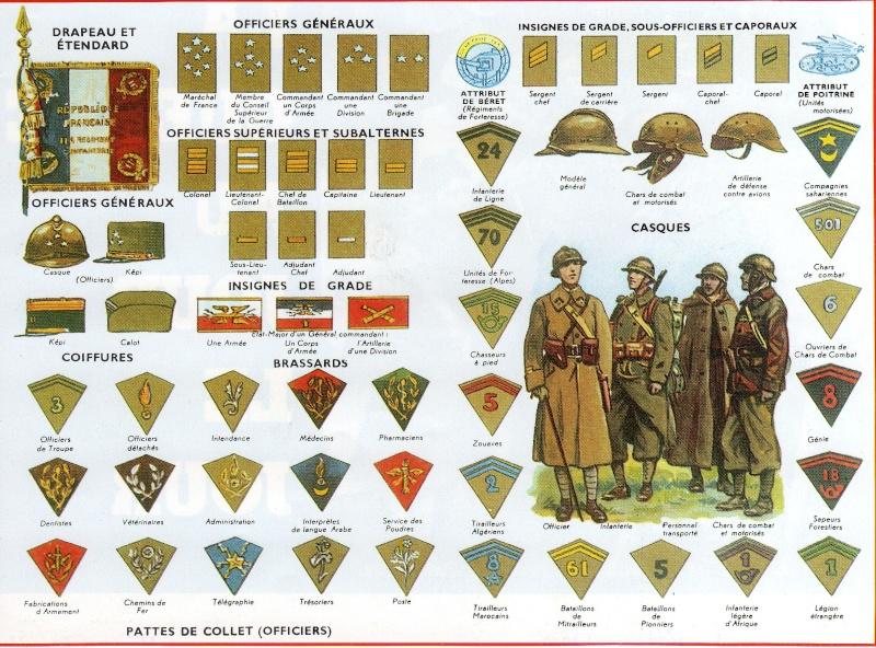 Troupes françaises d'Afrique en 1940- uniformes & insignes Sans_t58
