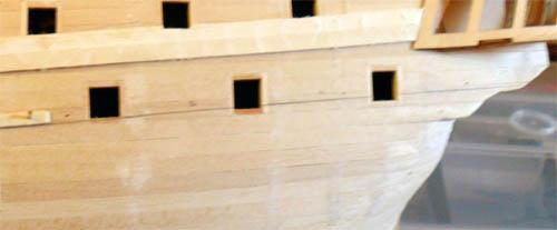 Wilfried's Baubericht zur Victory aus Holz und anderem Kram 07210