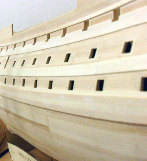 Wilfried's Baubericht zur Victory aus Holz und anderem Kram 07310
