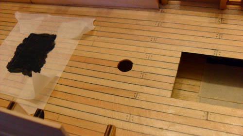 Wilfried's Baubericht zur Victory aus Holz und anderem Kram 08310