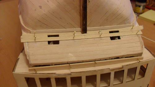 Wilfried's Baubericht zur Victory aus Holz und anderem Kram 09410