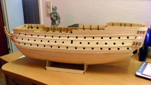 Wilfried's Baubericht zur Victory aus Holz und anderem Kram 09610