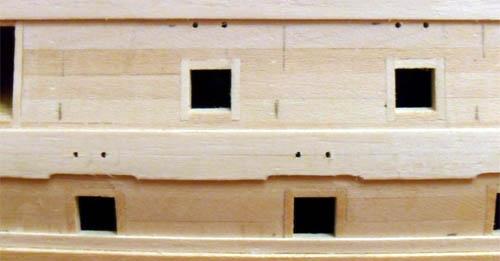 Wilfried's Baubericht zur Victory aus Holz und anderem Kram 09710