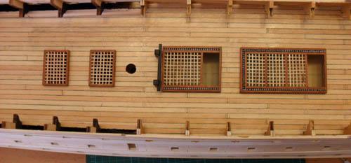 Wilfried's Baubericht zur Victory aus Holz und anderem Kram 8410