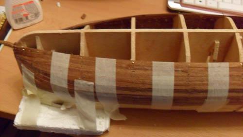 Hermione La Fayette 1780 / Artesania Latina Planke10