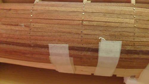 Hermione La Fayette 1780 / Artesania Latina Planke11