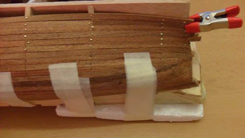 Hermione La Fayette 1780 / Artesania Latina Planke12
