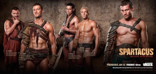 Spartacus Blood And Sand Banner25