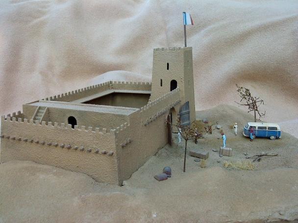 Airfix Fort Sahara Dsc00425