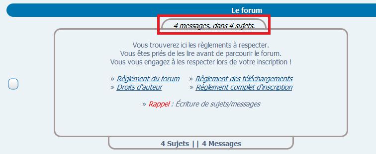 Inverser titre du forum et x messages dans x sujets Src10