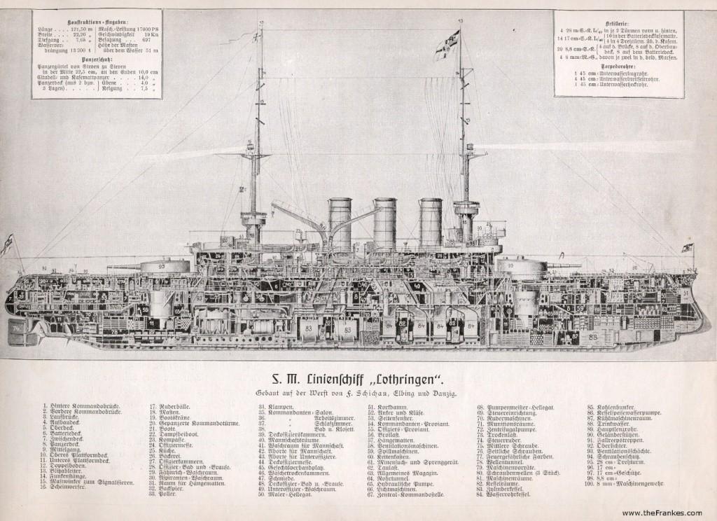 croiseur SMS Kolmar Kaiser10