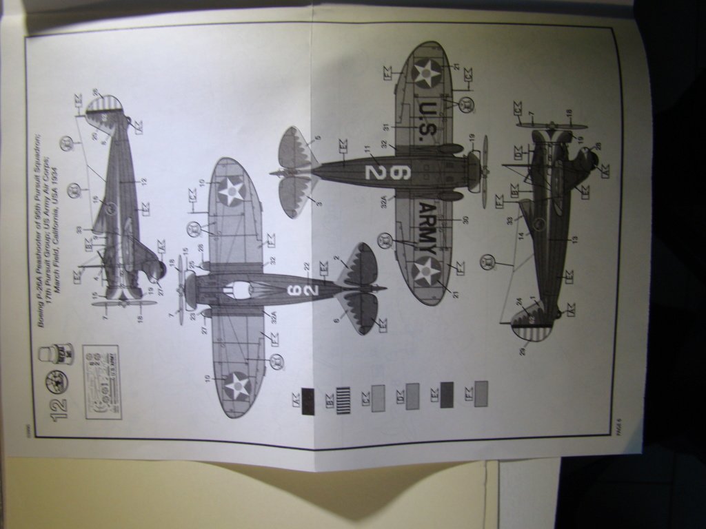 """[Concours 2019 - 1] - [Revell] Boeing P-26a """"Peashooter"""" 1_710"""