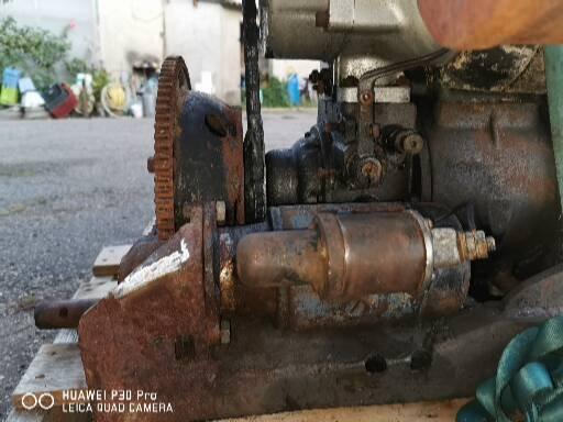 Vend moteur sachs 2 temps diesel D600L (vendu)  2019-012
