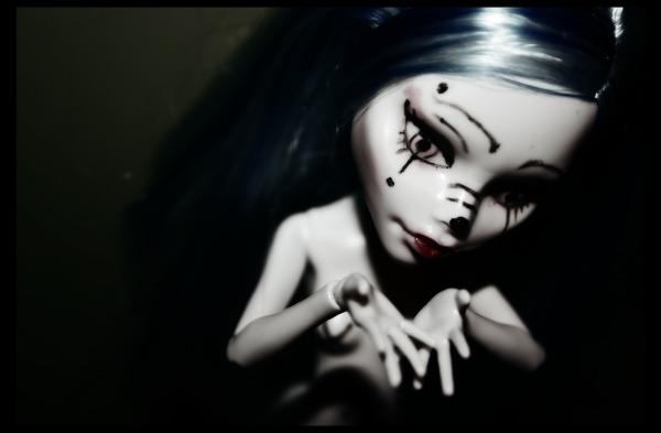 [MH Ghoulia custo'] Black & White ~ Eva410