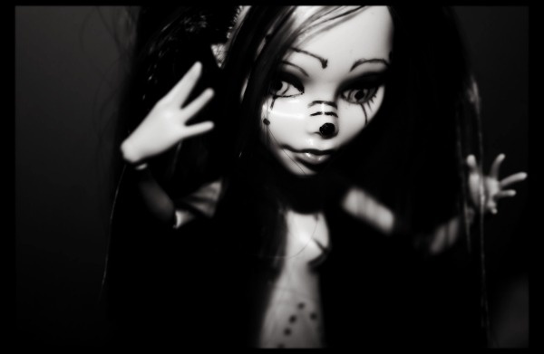 [MH Ghoulia custo'] Black & White ~ Jeuc10