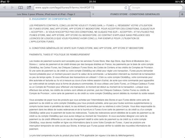 Les Sims 3 pour iPhone, iPod touch et iPad  - Page 2 Photo_13