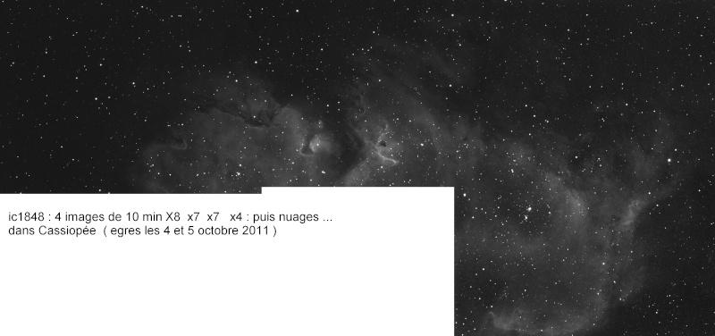 Permière depuis mon Obs. IC1848 Ic184811
