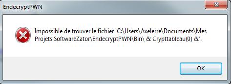 [Résolu]Séléction de fichier et Cryptage Sans_t14