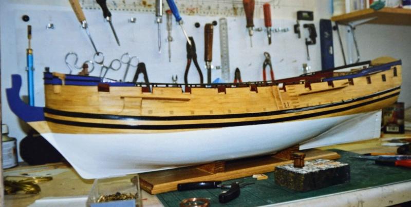 Building HMS Blandford (1719) Blandf11