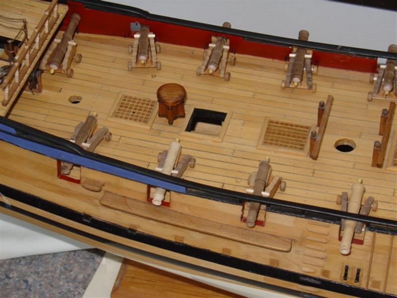 Building HMS Blandford (1719) Blandf23