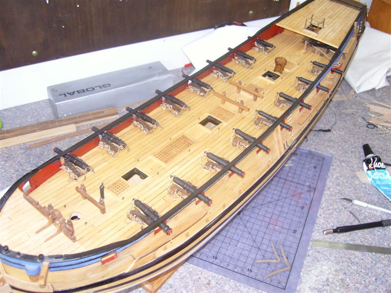 Building HMS Blandford (1719) Blandf26