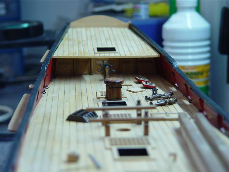 Building HMS Blandford (1719) Models11