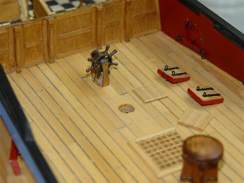 Building HMS Blandford (1719) Models12