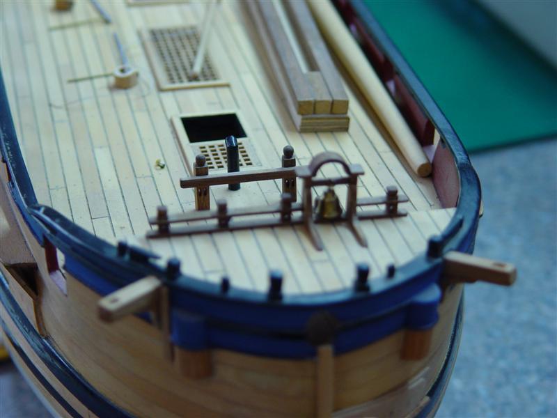Building HMS Blandford (1719) Models13