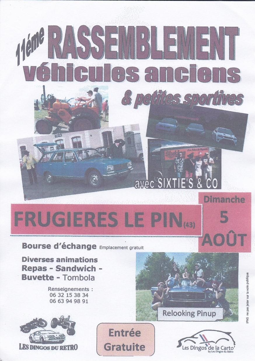 Rassemblement véhicules anciens à Frugières Le Pin ( 43 ) Rasso_10