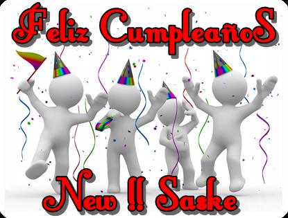 Feliz Cumpleaños Saske. Cumple10