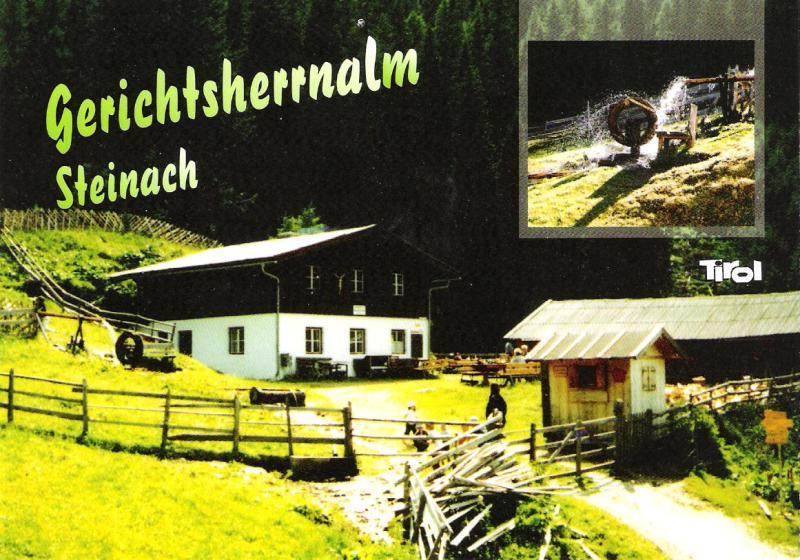 Alte Ansichten von Steinach - Mein Heimatort ganz nostalgisch Almen10